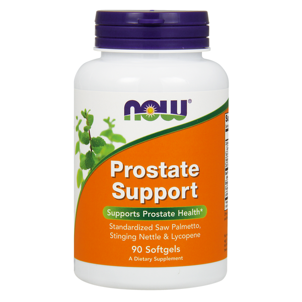 Now Foods Prostate Support - 90 Softgels - Health As It Ought to Be