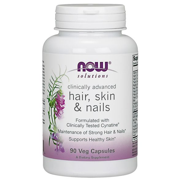 Now Foods Hair, Skin and Nails - 90 Capsules - Health As It Ought to Be