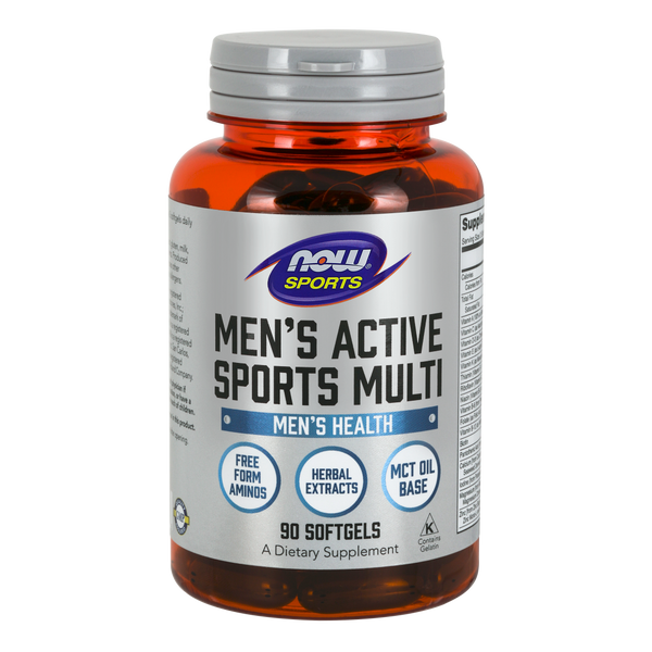Now Foods Men's Active Sports Multi - 90 Softgels