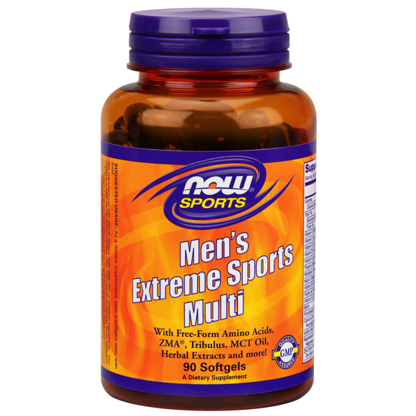 Now Foods Men's Extreme Sports Multi - 90 Softgels - Health As It Ought to Be