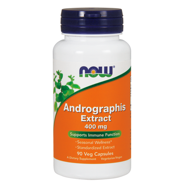 Now Foods Andrographis 400 mg - 90 Veg Capsules - Health As It Ought to Be