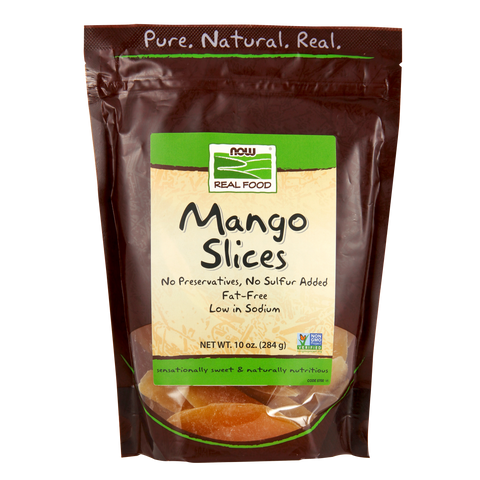 Now Foods Mango Slices - 10 oz. - Health As It Ought to Be