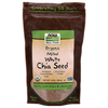 Now Foods White Chia Seed Milled, Organic - 10 oz.