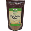 Now Foods Flax Seed Meal, Organic - 12 oz. - Health As It Ought to Be