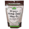 Now Foods Hemp Seed Hearts, Organic - 8 oz. - Health As It Ought to Be
