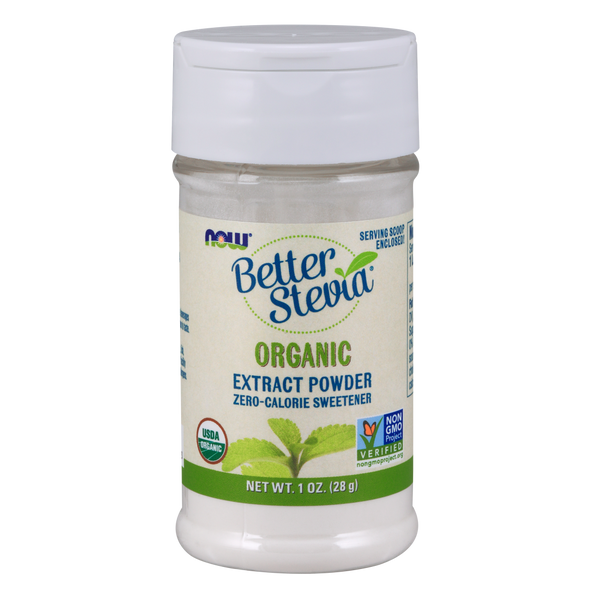Now Foods Stevia Powder, Organic - 28 g - Health As It Ought to Be