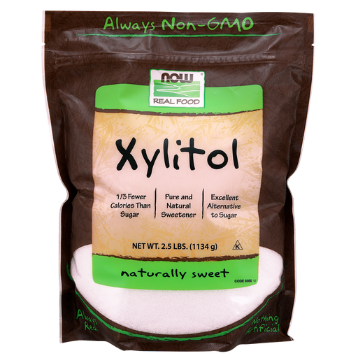 Now Foods Xylitol - 2.5 lbs. - Health As It Ought to Be