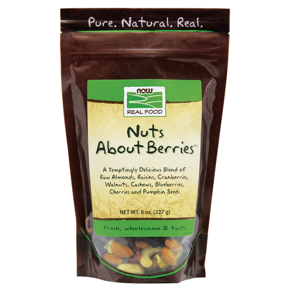 Now Foods Nuts About Berries™ - 8 oz. - Health As It Ought to Be