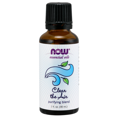 Now Foods Essential Oil Blend, Clear The Air - 30 ml - Health As It Ought to Be