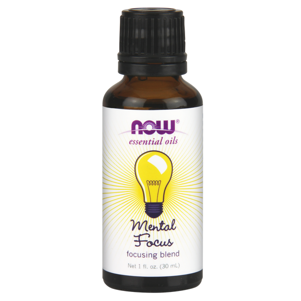 Now Foods Essential Oil Blend, Mental Focus - 30 ml - Health As It Ought to Be