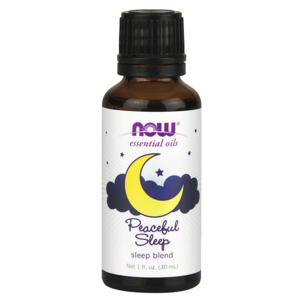 Now Foods Essential Oil Blend, Peaceful Sleep - 30 ml - Health As It Ought to Be