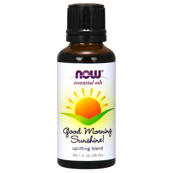 Now Foods Essential Oil Blend, Good Morning Sunshine - 30 ml - Health As It Ought to Be