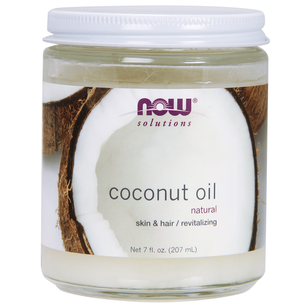 Now Foods Coconut Oil - 7 fl. oz. - Health As It Ought to Be
