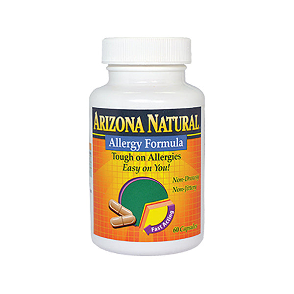 Arizona Natural Allergy Formula - 60 Capsules - Health As It Ought to Be