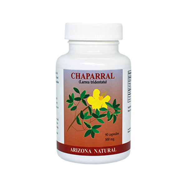 Arizona Natural Chaparral (Larrea Tridentata) 500 mg - 90 Capsules - Health As It Ought to Be