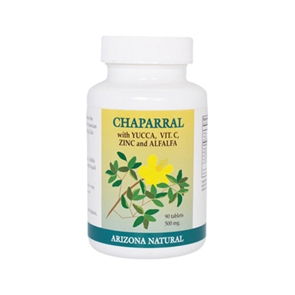 Arizona Natural Chaparral Combination 500 mg - 90 Tablets - Health As It Ought to Be