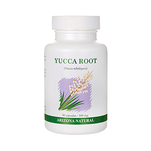 Arizona Natural Yucca Root (Yucca Shidigera) 500 mg - 90 Capsules - Health As It Ought to Be