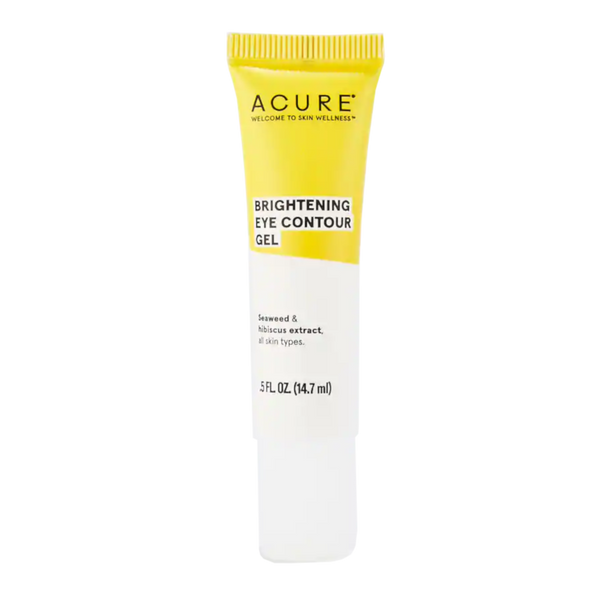 Acure Brightening Eye Contour Gel - .5 fl oz. - Health As It Ought to Be
