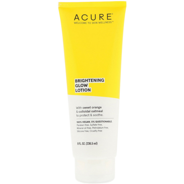 Acure Brightening Glow Lotion  - 8 fl oz. - Health As It Ought to Be