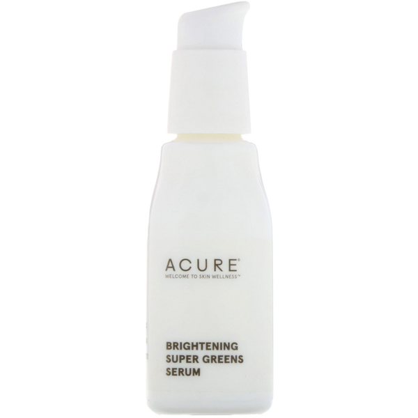 Acure Brightening Super Greens Serum - 1 fl oz. - Health As It Ought to Be