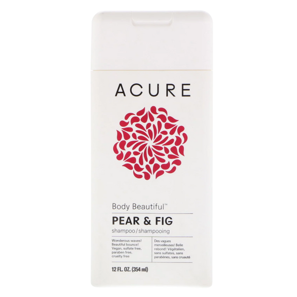 Acure Body Beautiful Pear & Fig Shampoo- 12 fl oz. - Health As It Ought to Be