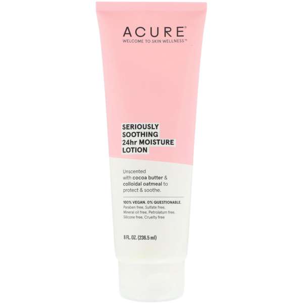 Acure Seriously Soothing 24 Hr Moisture Lotion  - 8 fl oz. - Health As It Ought to Be