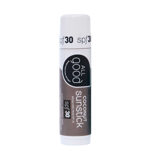 All Good Sunstick SPF30, Coconut - .6 oz. - Health As It Ought to Be