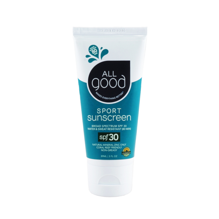 All Good SPF 30 Sport Sunscreen Lotion - 3 oz. - Health As It Ought to Be