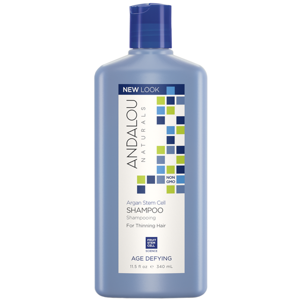 Andalou Naturals Argan Stem Cell Age Defying Shampoo - 11.5 fl oz. - Health As It Ought to Be