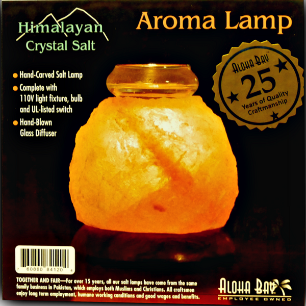 Aloha Bay Salt Aroma Lamp - Health As It Ought to Be