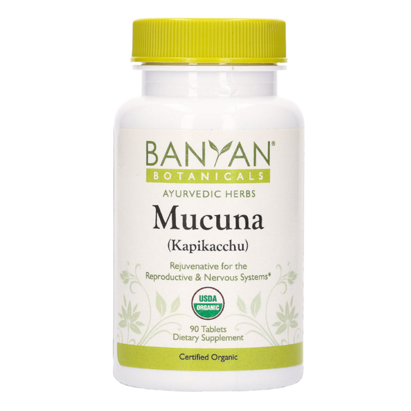 Banyan Botanicals Mucuna (Kapikacchu) - 90 Tablets - Health As It Ought to Be