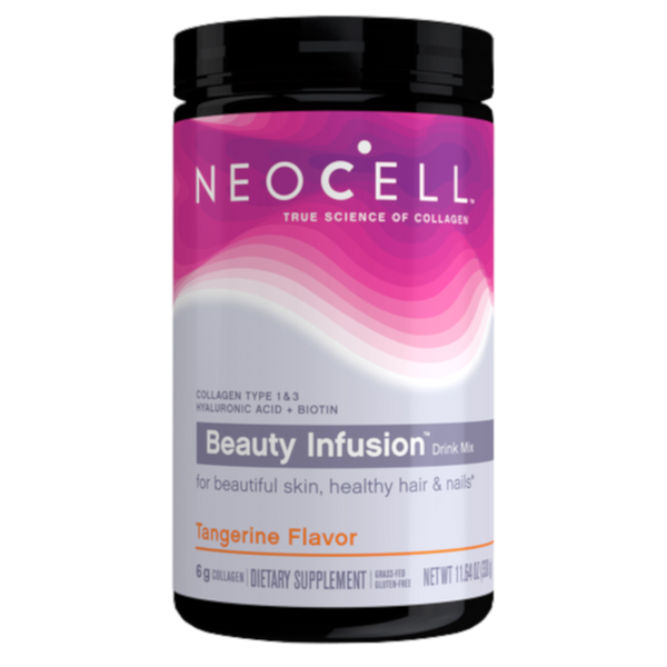 Neocell Beauty Infusion Tangerine Twist Collagen Drink Mix 11.6oz