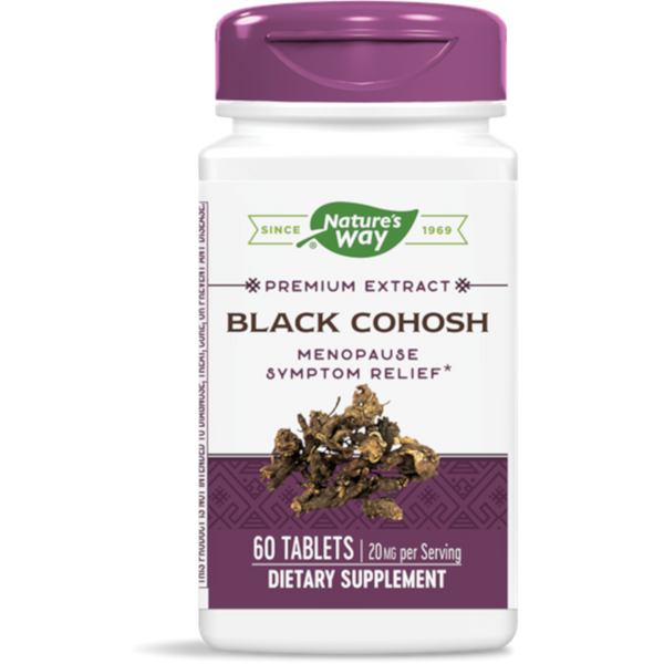 Nature's Way Black Cohosh - 60 Tablets