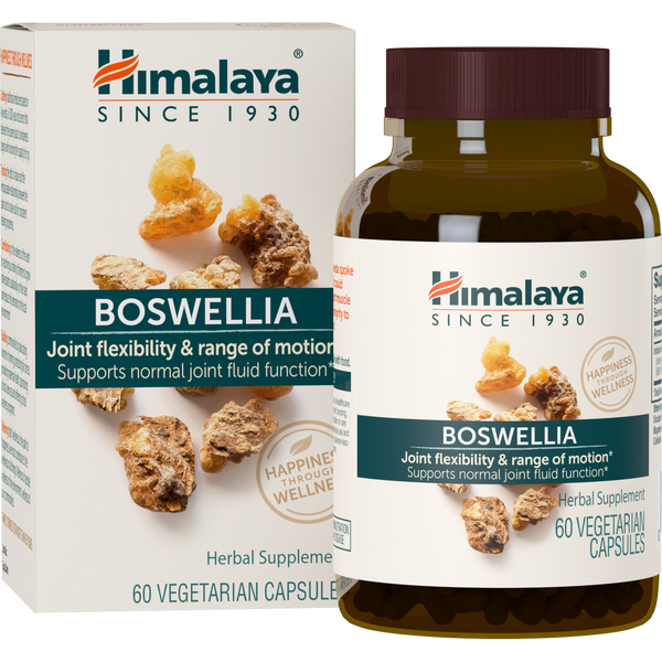 Himalaya Herbal Healthcare Boswellia 250 mg - 60 Vegetarian Capsules - Health As It Ought to Be