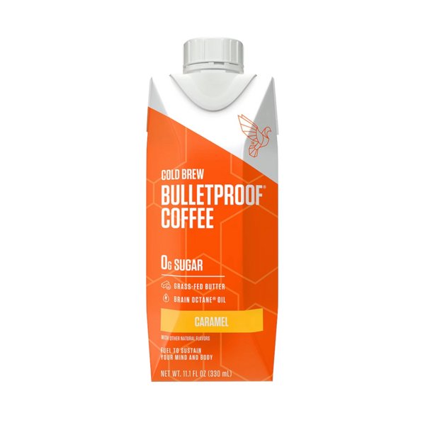 Bulletproof Coffee Cold Brew Caramel - 11.1 oz. - Health As It Ought to Be