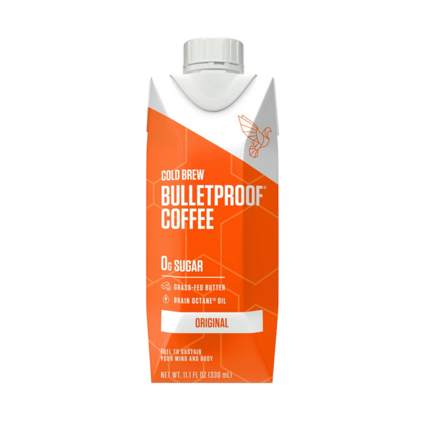 Bulletproof Coffee Cold Brew Original - 11.1 oz. - Health As It Ought to Be