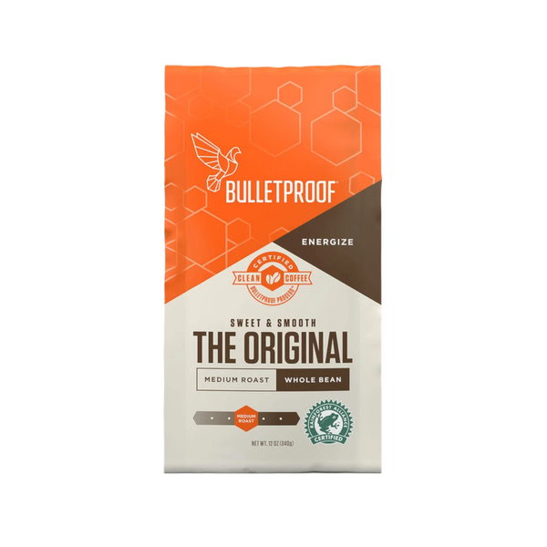 Bulletproof The Original Medium Roast Whole Bean Coffee - 12 oz. - Health As It Ought to Be