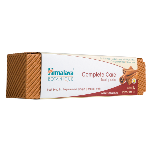 Himalaya Herbal Healthcare Simply Cinnamon Complete Care Toothpaste - 5.29 oz. - Health As It Ought to Be