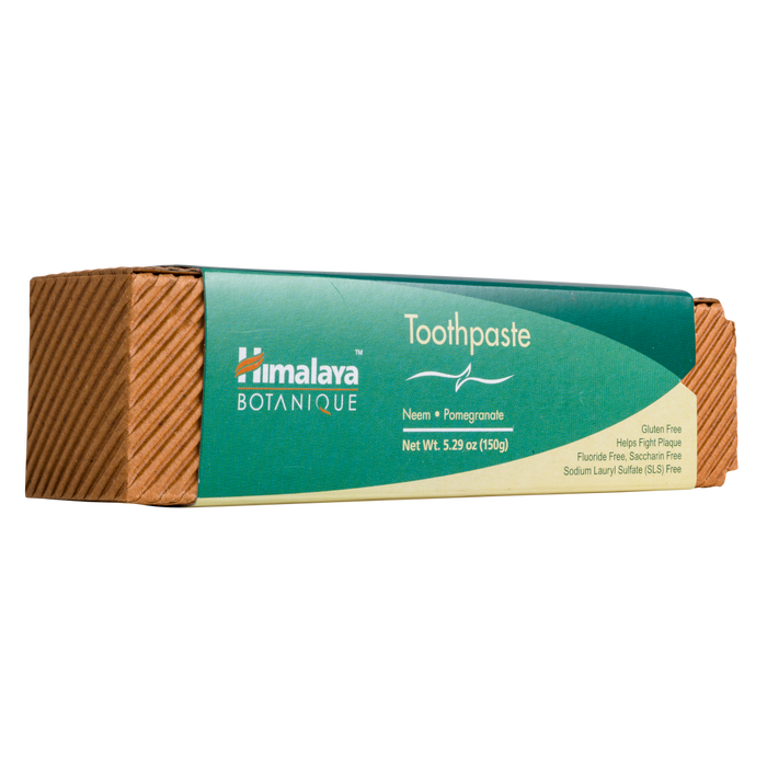 Himalaya Herbal Healthcare Neem and Pomegranate Toothpaste - 5.29 oz. - Health As It Ought to Be