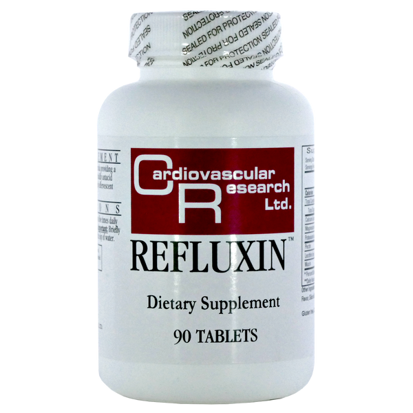 Cardiovascular Research Refluxin - 90 Tablets - Health As It Ought to Be
