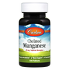Carlson Chelated Manganese - 100 Tablets - Health As It Ought to Be