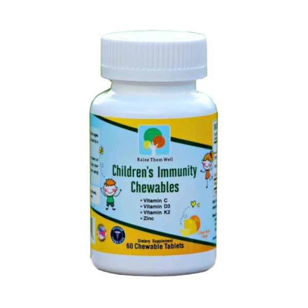 Raise Them Well Children's Immunity Chewable - 60 Chewables