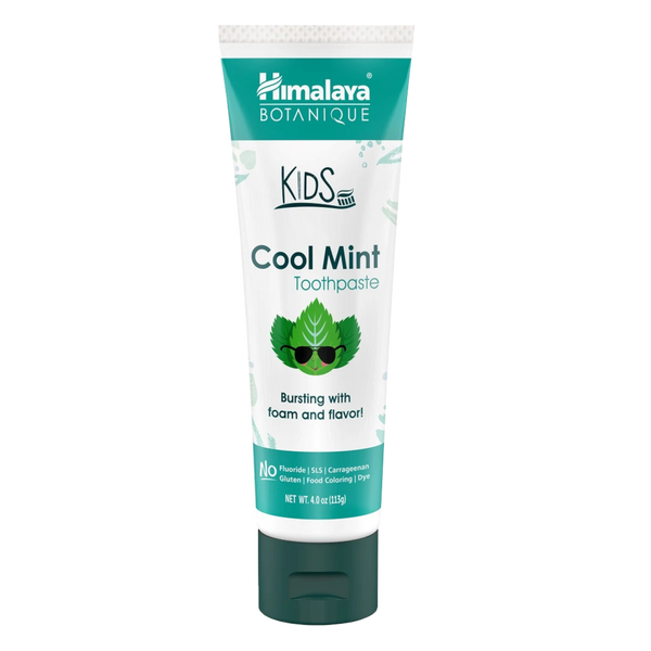 Himalaya Herbal Healthcare Kids Toothpaste, Cool Mint - 4 oz.