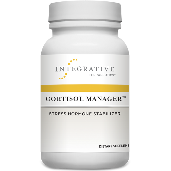 Integrative Therapeutics Cortisol Manager - 90 Tablets - Health As It Ought to Be