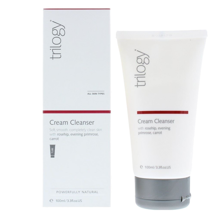Trilogy Cream Cleanser - 3.3 fl oz. - Health As It Ought to Be