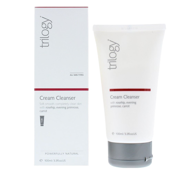 Trilogy Cream Cleanser - 3.3 fl oz.