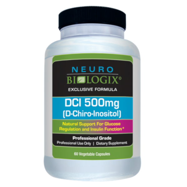 Neurobiologix DCI 500MG (D-CHIRO-INOSITOL) - 60 Capsules - Health As It Ought to Be