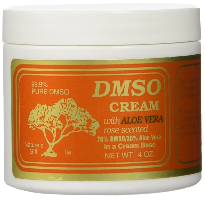 DMSO Cream Rose Scented - 2 oz. - Health As It Ought to Be