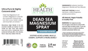 HAIOTB Dead Sea Magnesium Spray - 2 fl. oz. Topical - Health As It Ought to Be
