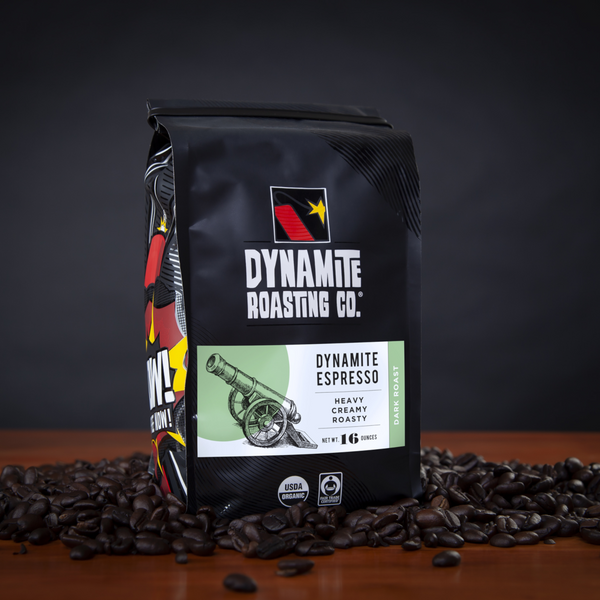 Dynamite Roasting Dynamite Espresso - 16 oz. - Health As It Ought to Be